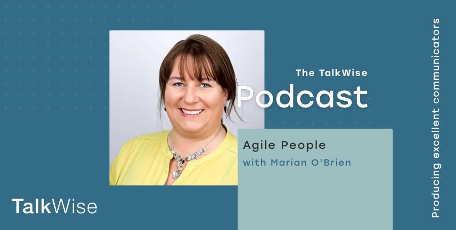 Marian OBrien TalkWise Podcast