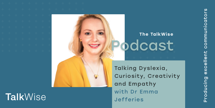 Dr Emma Jefferies on the TalkWise Podcast